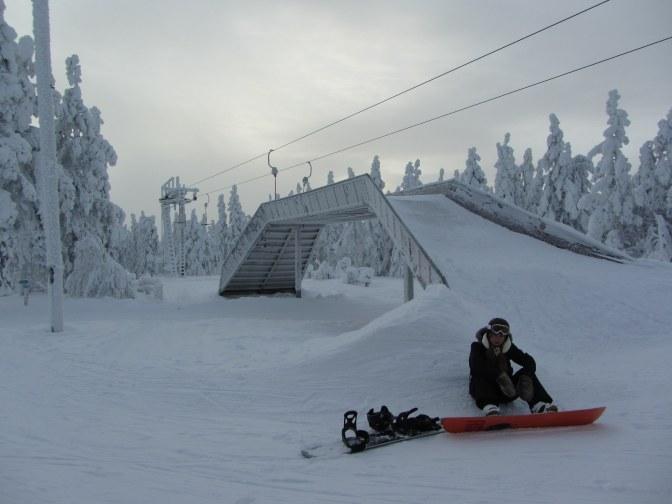 Snowboarden in Scandinavië