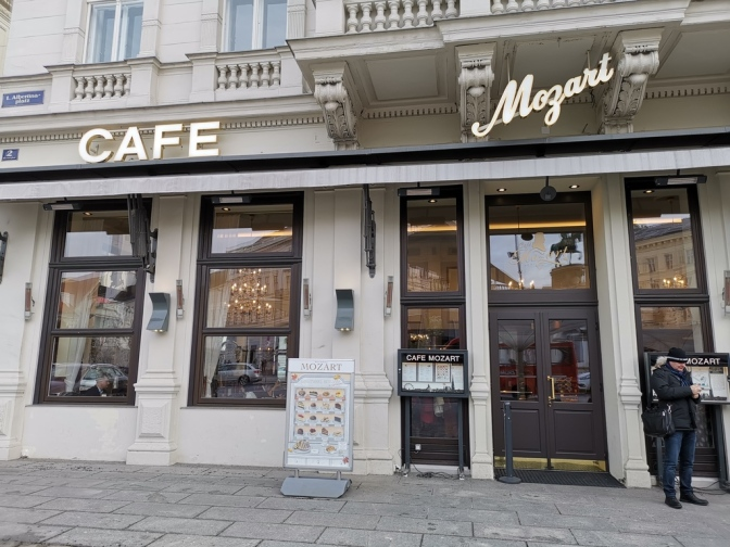Cafe Mozart in Wenen