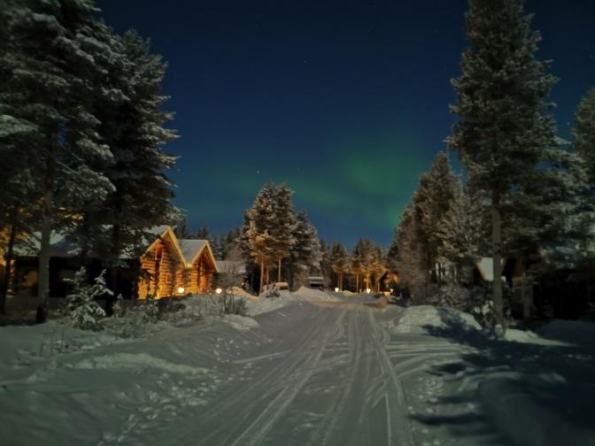 Het prachtige Aurora Borealis