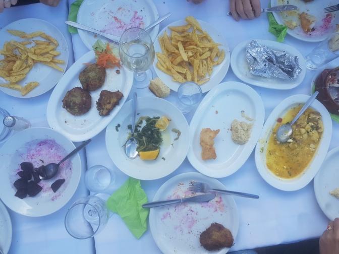 Grieks eten is zo gezellig