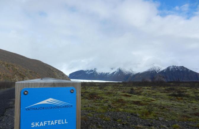 Hiken naar de Skaftafellsjokull-gletsjer