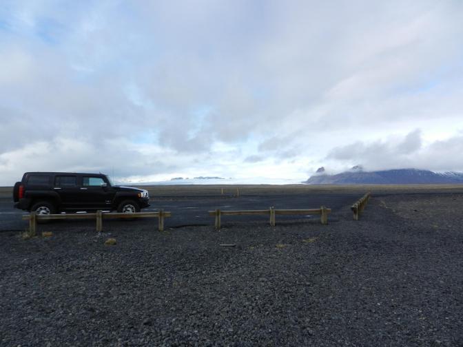Hummer H3 op IJsland