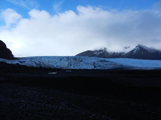IJsmassa van de Skaftafellsjokull-gletsjer