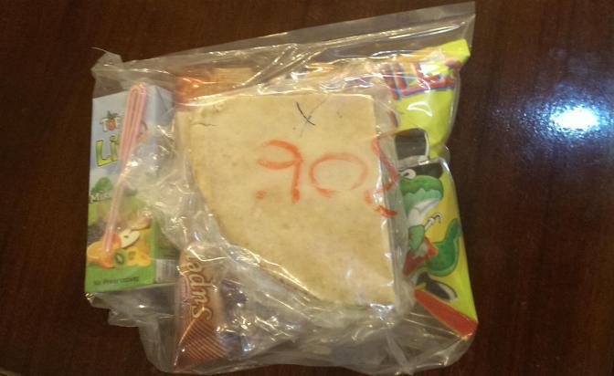 Lunchpakket voor paar Shekels