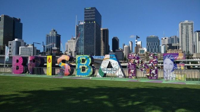 Logo van Brisbane