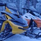 Sneeuwscooteren doe je in Lapland