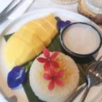 De lekkerste Thaise snack voor de zoetekauw: sticky rijst met mango