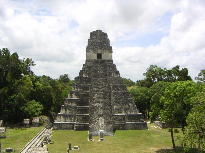 Tempelcomplex El Petén, Guatemala