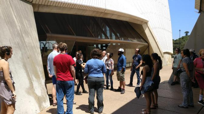 Rondleiding Sydney Opera House