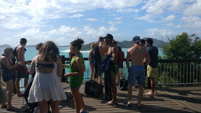 Uitkijkpunt Whitsunday Islands
