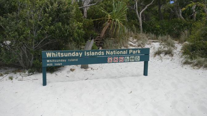 Whitsunday Islands is een nationaal park met prachtige natuur