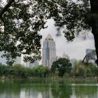 Lumphini Park in Bangkok laat je even relaxen in de natuur