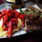 Niet echt voor vegetariërs: restaurant NiliPoro in Levi