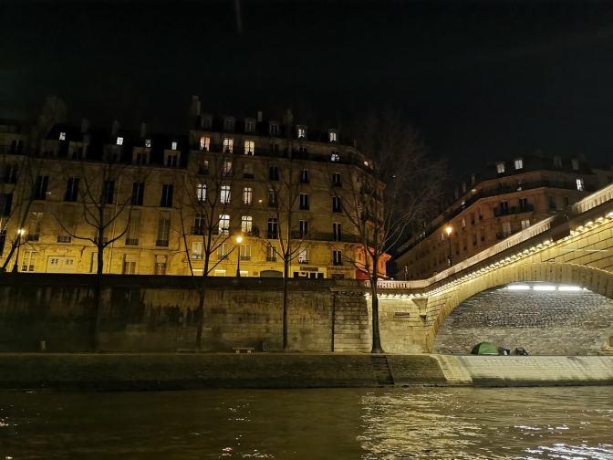 De oevers van de Seine zijn alleen meestal niet moeders mooiste
