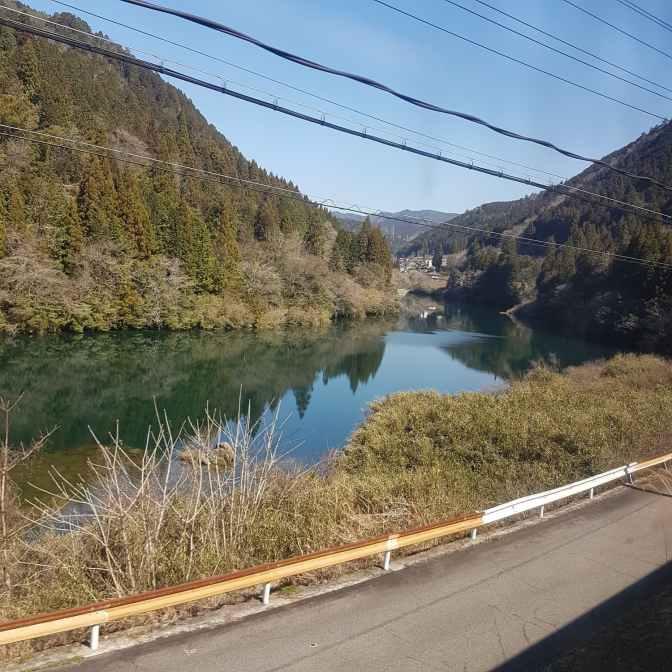 Onderweg vanuit Kyoto met de bus