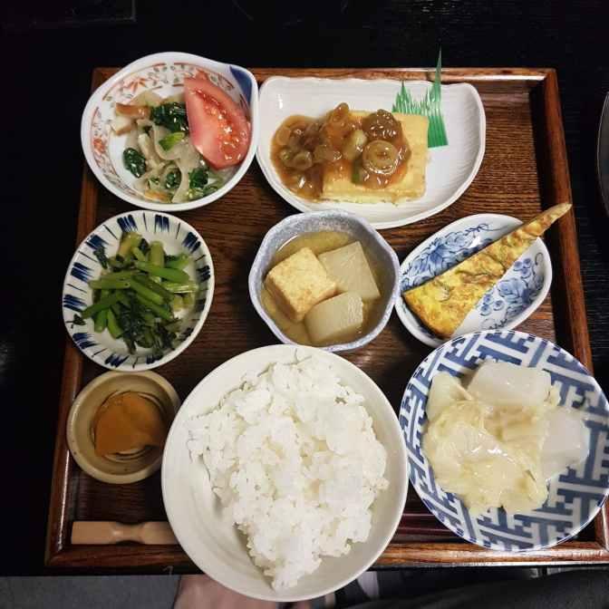 Echt Japans eten, heerlijk!