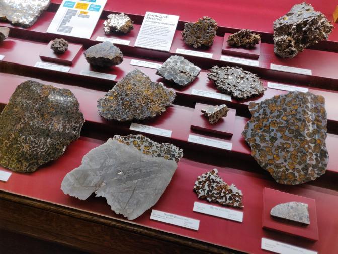 De grootste collectie meteorieten in Europa