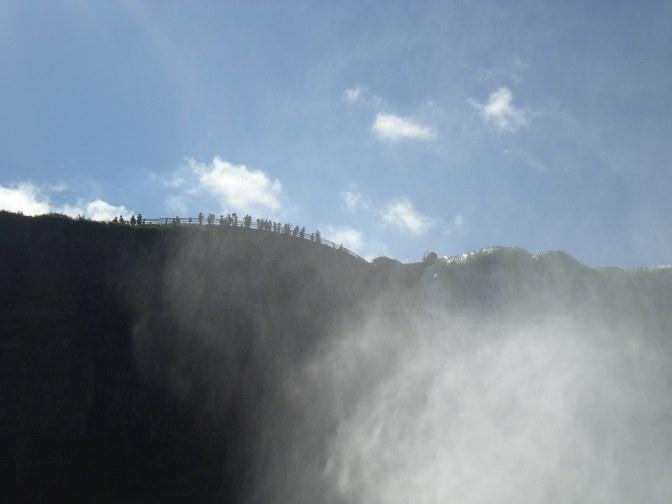 'The mist', oftewel waternevel bij de Niagara Falls