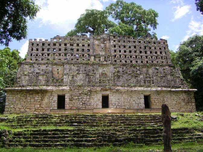 Prachtige Maya-architectuur
