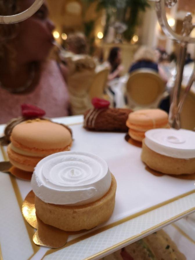 De zoetigheid van het Ritz is perfect
