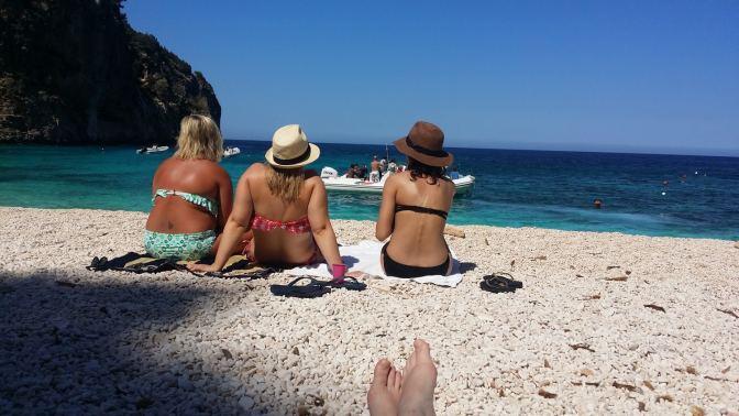 Sardinië heeft vrij veel kleinschalige strandjes