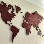 Een wereldkaart van City Shapes past in elk interieur