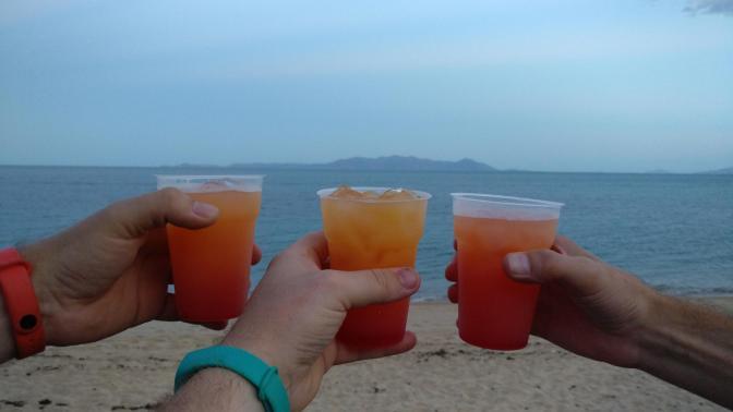 Welkomstdrankjes op Magnetic Island