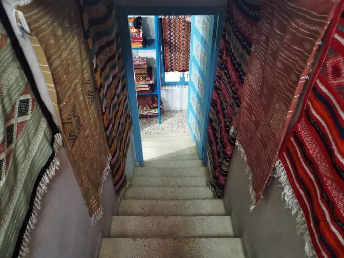 Overal tapijten