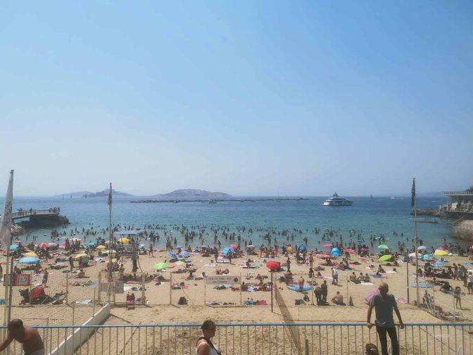"""Het """"nepstrand"""" van Marseille"""
