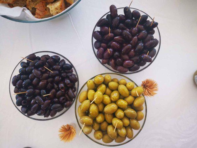 Prachtige Kalamata-olijven