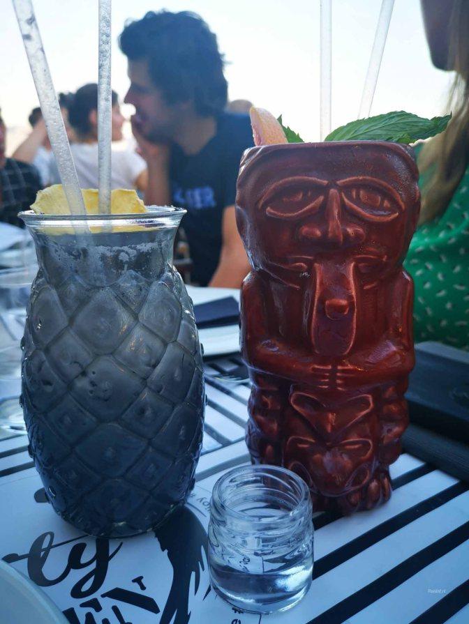 De cocktails zien er wel heel mooi uit bij ZenCity