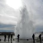Genieten van de geisers in IJsland